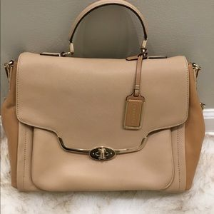 Coach Madison Sadie flap satchel